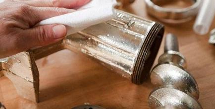 Clean meat grinder plates