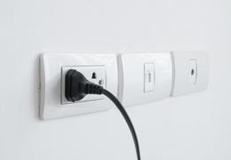 plug into the socket