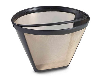 A coffee filter