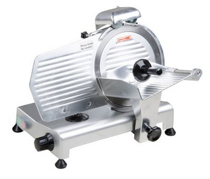 A typical electric meat slicer