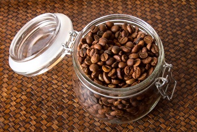 Store your coffee beans in sealed containers