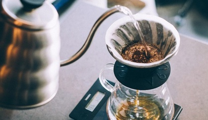 Use freshly-boiled water for coffee making
