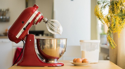 You need to clean stand mixer regularly