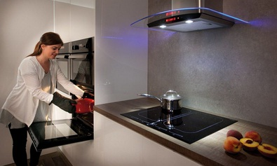 Induction hobs are very energy-effective